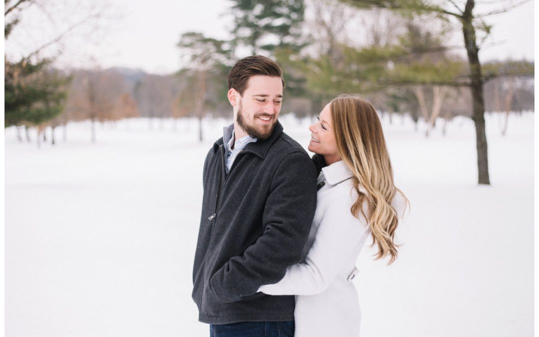 Kiani & Andrew – Winter Wonderland Session