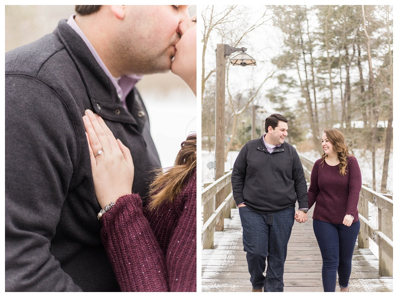 Mary & Nick – Winter Engagement Session