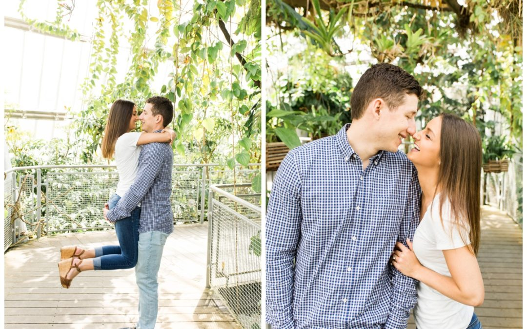 Hannah & James – Cleveland Engagement Session