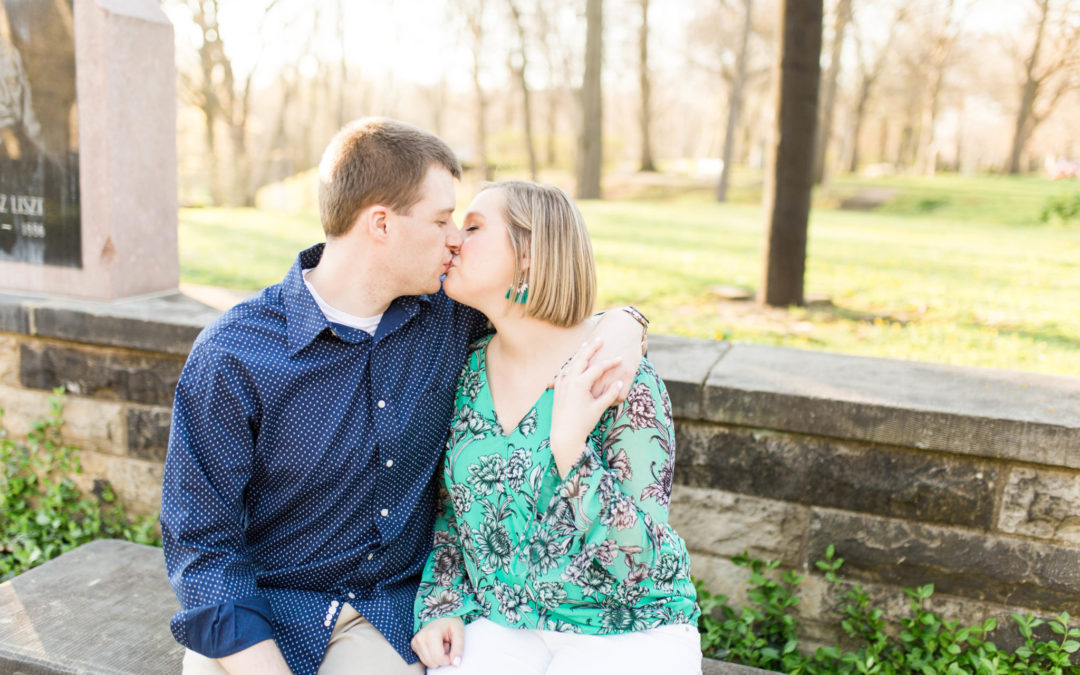 Kayla & Phil – Cleveland Cultural Garden Engagement Session