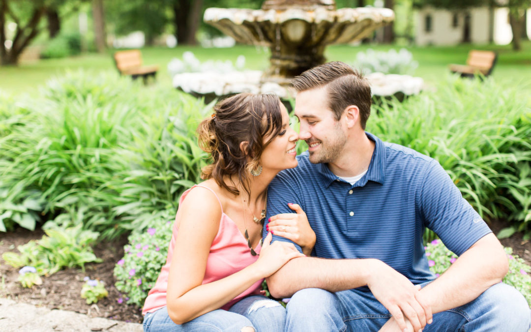 Jessica & Brennan – Coubly Park Engagement Session