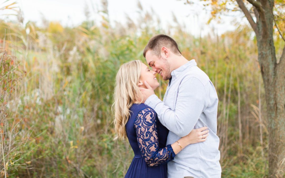 Kortni & Tyler – Maumee Bay State Park Engagement Session
